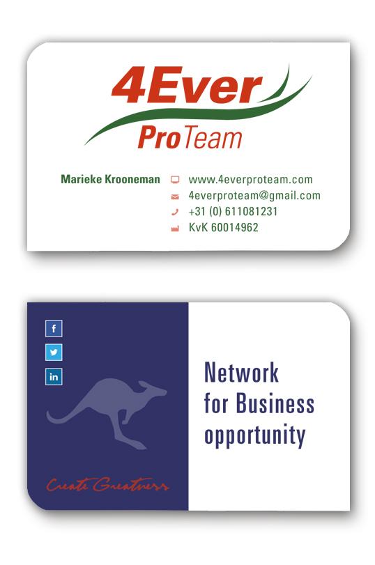 4Ever-ProTeam-visitekaartjes