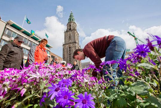 Bloemetjesmarkt Groningen