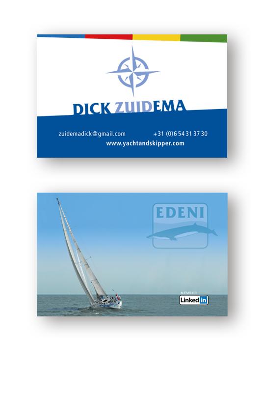 Dick Zuidema Visitekaartje
