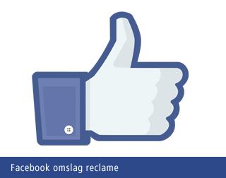 Facebook omslag reclame