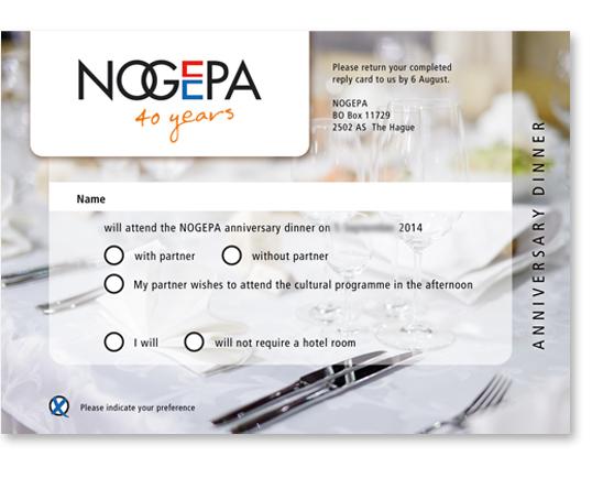 NOGEPA antwoordkaart