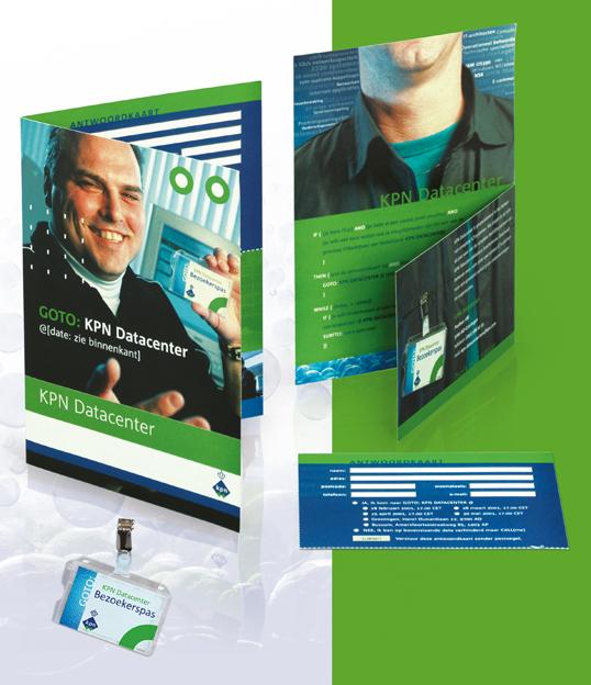 KPN Datacenter personeelswerving folder