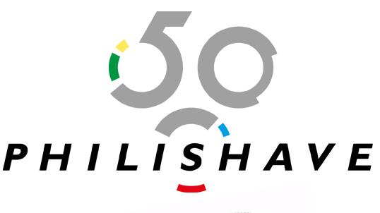 Philips Philishave jubileum logo