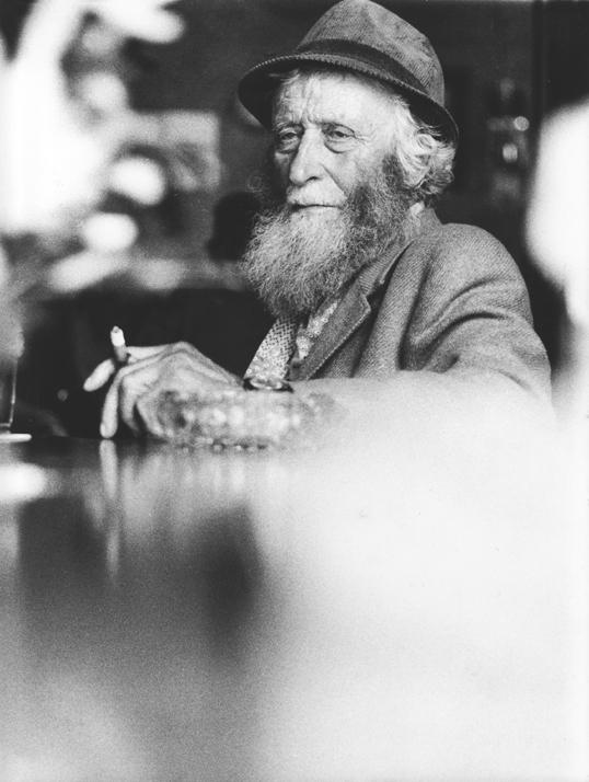 Man in café Drachten 1977